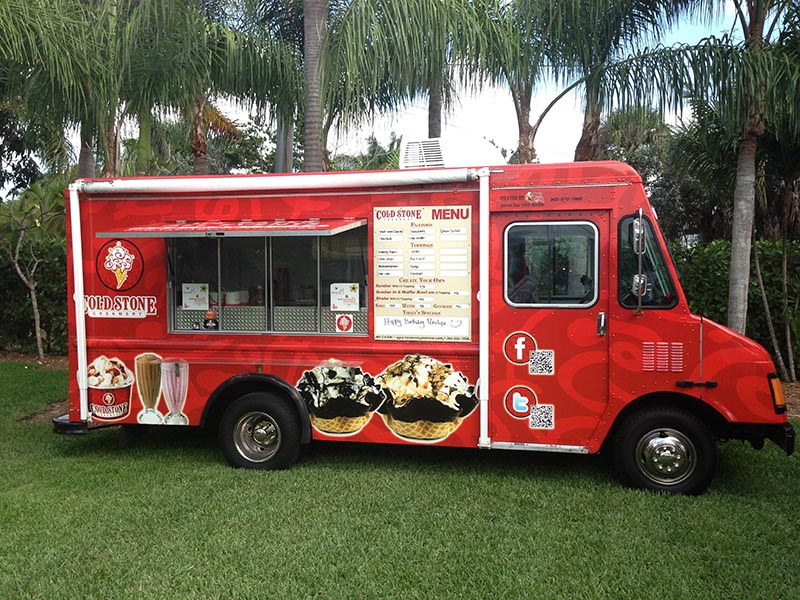 Ice Cream truck Catering in Miami, FL